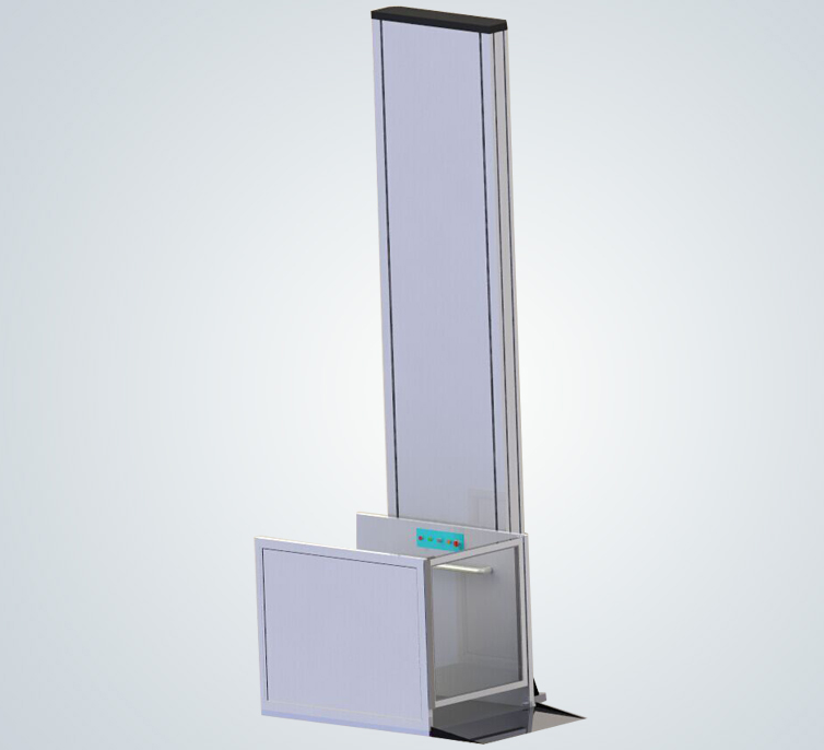 Aluminum wheelchair lift