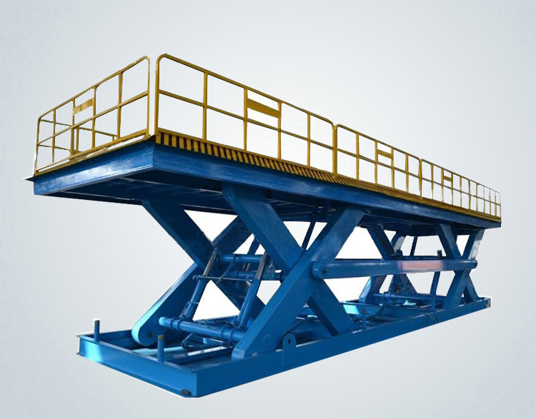 Dual scissor car lift