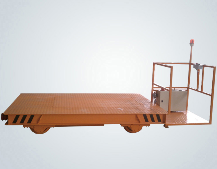 Low voltage transfer cart