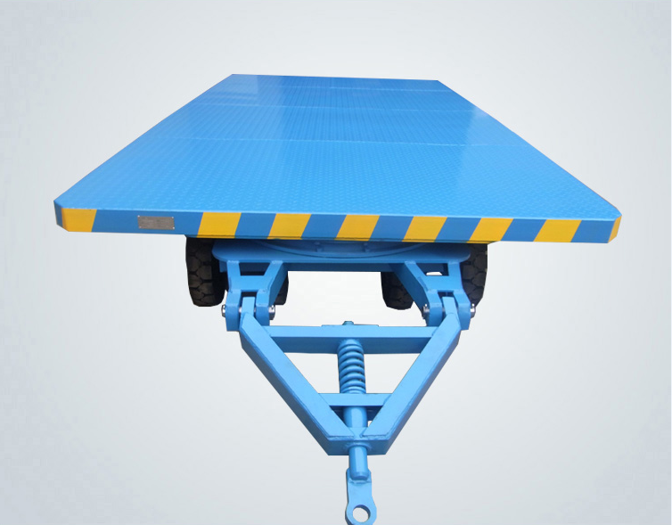 Towed transfer cart
